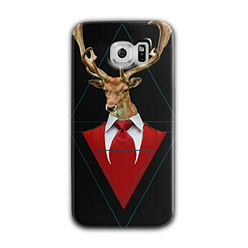 Abstract Animal Abstract Animal Case for Samsung Galaxy, Classy Non-Slip Cover - Slim Fit, Comfortable Grip, Protective Case by Wellcoda ()