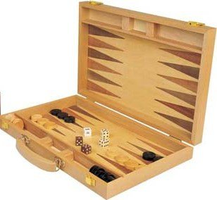 Wood Backgammon Set - 5