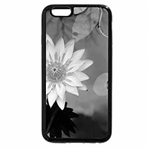iPhone 6S Case, iPhone 6 Case (Black & White) - The Lovely Lotus