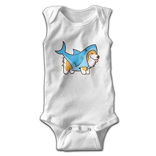 shark baby onesie - 3