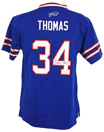 Thurman Thomas Signed Buffalo Bills Youth Jersey JSA