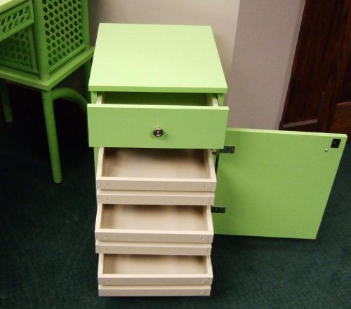 Arrow Cabinet 804 Suzi Sewing Storage Cabinet, Green