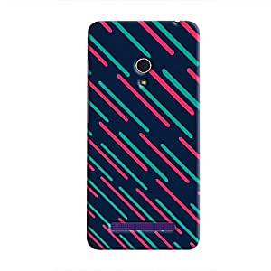 Cover It Up - Teal Lasers Zenfone 6Hard Case