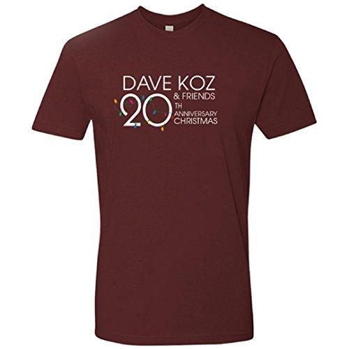 Dave Koz & Friends 20th Anniversary Christmas Tee (Medium)