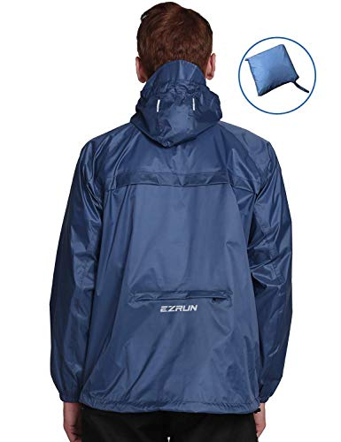 EZRUN Men's Waterproof Hooded