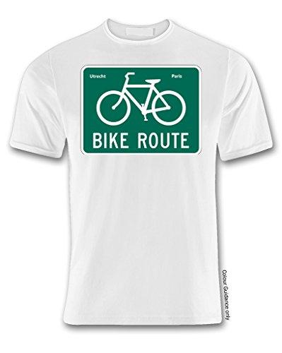 blanco corta manga para de Camiseta Ciclismo hombre 360 at4qInS0