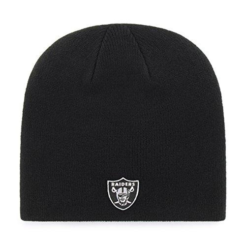 OTS Adult Men's NFL Beanie Knit Cap, Team Color, One Size