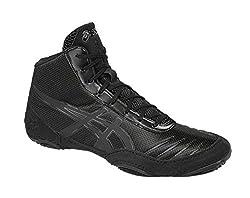 Asics Men's Jb Elite V2.0 Wrestling Shoe, Blackonyx, 10 M Us