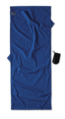 Cocoon Cotton TravelSheet (Ultra Blue, 86-Inch x 35-Inch) Cocoon Cotton Travel Sheet