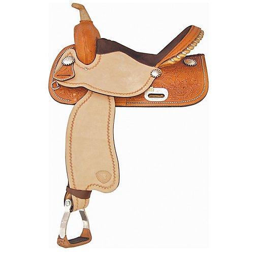 Tex Tan Finals Champ Barrel Saddle 14