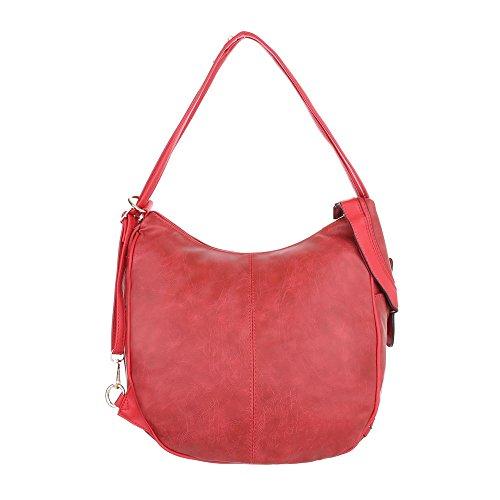 Schuhcity24 Taschen Handtasche In Used Optik Rot 2sShZ