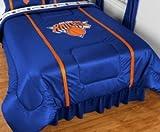 NBA New York Knicks Sidelines Comforter, King, Bright Blue