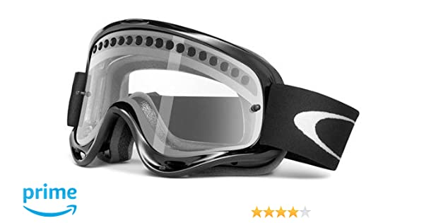 bfc8fe45885 Amazon.com   Oakley Enduro with Vented Lens MX Goggles (Jet Black Frame  Vented Clear Lens