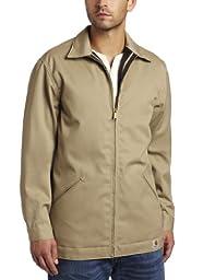 Carhartt Men\'s Twill Work Jacket ,Khaki  (Closeout),XX-Large