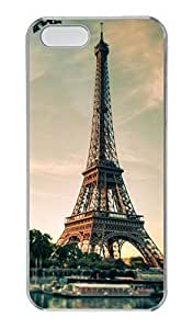 iPhone 5/5s Case, Personalized Protective Eiffel Case for iPhone 5/5S PC Clear Phone Cover