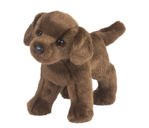 Douglas Cuddle Toys TUCKER Chocolate Lab (Stuffed Animal Brown)