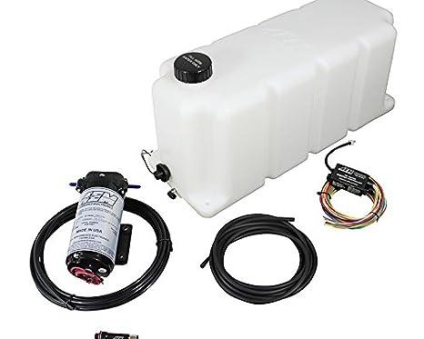 AEM Electronics 30 - 3111 50-state legal agua Kit de inyección para motores turbo diésel W/depósito de 5 L: Amazon.es: Coche y moto