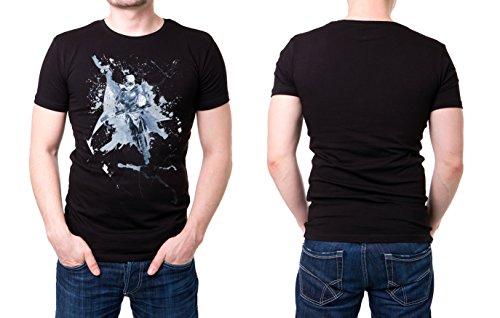 Rallye_Dakar schwarzes modernes Herren T-Shirt mit stylischen Aufdruck