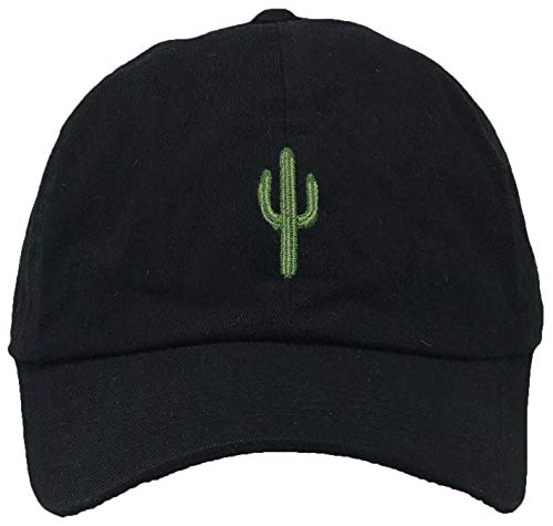 H-214-C06 Dad Hat Unconstructed Vintage Washed Low Profile Baseball Cap - Cactus