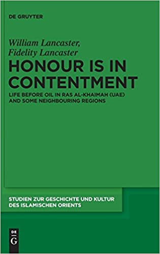 Amazon com: Honour is in Contentment: Life Before Oil in Ras