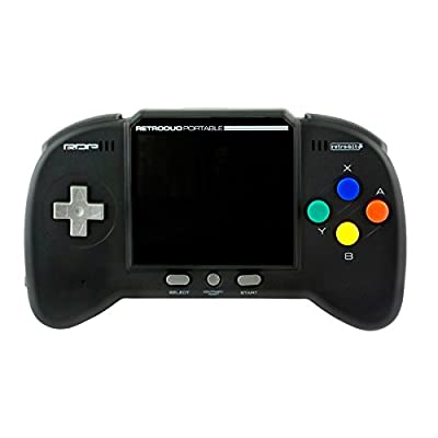 Retro-Bit RDP - Portable Handheld Console V2.0: CORE Edition - Black - NES