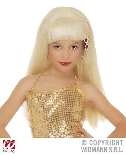 Barbie Popstar Costume (Home & Leisure Online Blonde Wig W/ Fringe Pop Star Lady Gaga Barbie Towie Essex)