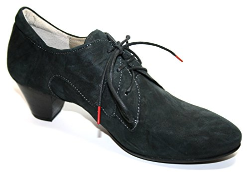Think! 85219-09 - Zapatos de cordones para mujer negro
