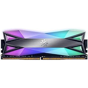 XPG DDR4 D60G RGB 16GB (2x8GB) 3200MHz PC4-25600 U-DIMM Desktop Memory CL16 (AX4U320038G16-DT60)