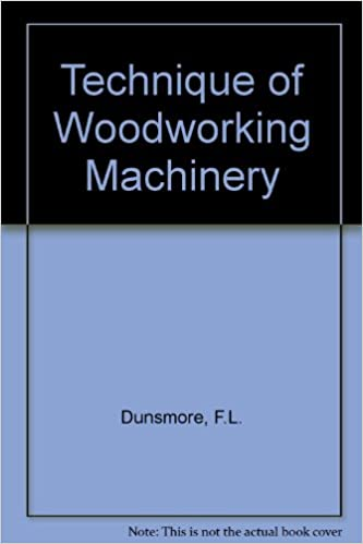 Technique of Woodworking Machinery: v. 2