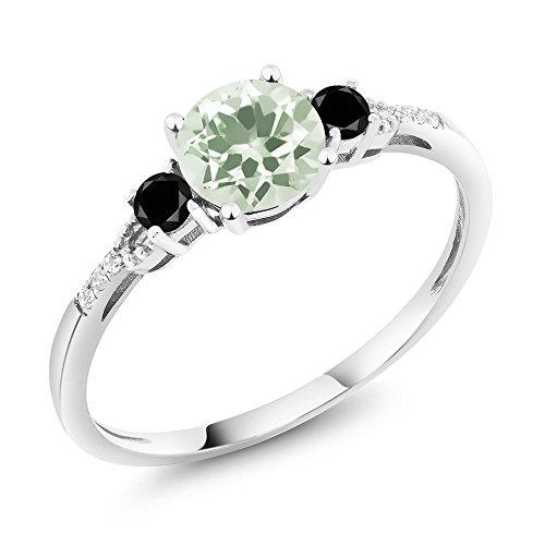 Green Amethyst Wedding Set - 6