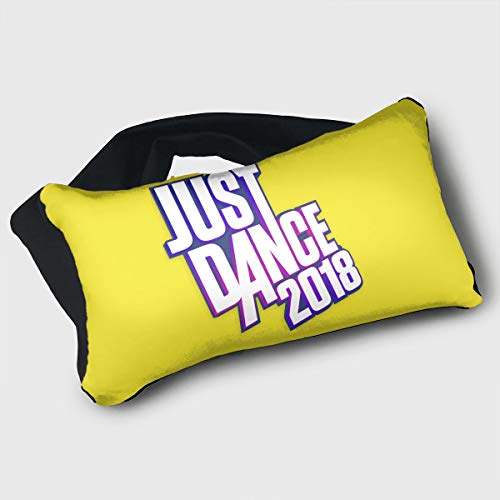 Voyage Travel Pillow Eye Mask 2 in 1 Portable Neck Support Scarf Just Dance 2018 Ergonomic Naps Rest Pillows Sleeper Versatile for Airplanes Car Train Bus Home Office by Barton (Image #4)