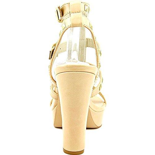 NOTFOUND - Sandalias de vestir para mujer color carne
