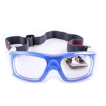 d1bb7ed170c8d Lunettes de sport Lunettes de protection des yeux pour Sports Ballon  Basket-ball Football volley-ball etc.- Bleu  Amazon.fr  Vêtements et  accessoires