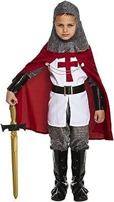9e976035e041a Glossy Look Costume de luxe de chevalier Lancelot pour garçon de 4-12 ans:  Amazon.it: Giochi e giocattoli