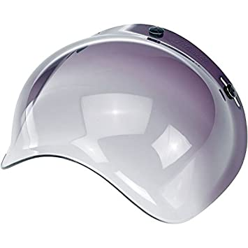 Retro burbujas Shield/Visera para Open Face casco de motocicleta