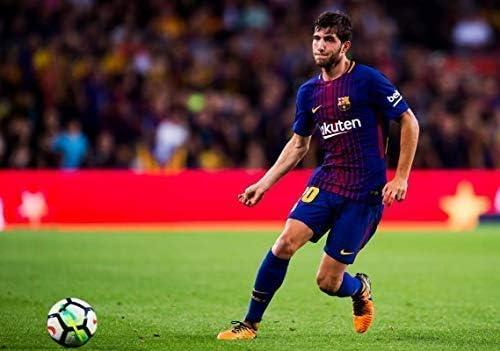 Desconocido Sergi Roberto FC Barcelona la Liga España Fútbol ...