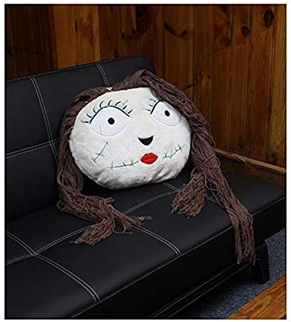 Amazon.com: Neca Nightmare Before Christmas Fabric Head Sally Inches 19  Inches Plush: Toys & Games