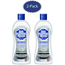 Bar Keepers Friend Cooktop Cleaner 13-Ounce Bottle - Set of 2