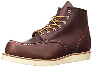 "Red Wing Men's Heritage 8138-6"" Moc Toe,Briar Oil Slick Leather,US 7.5 2E (B0018PB4ZQ) 