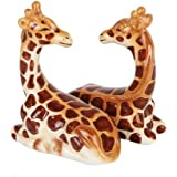 Salt & Pepper Shakers - Giraffe Magnetic Salt And Pepper Shakers