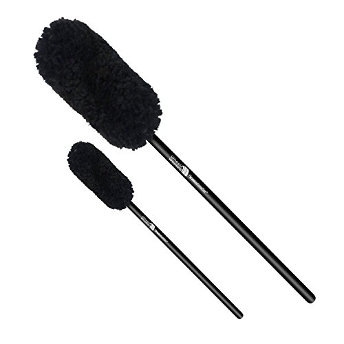 "Price comparison product image Wheel Woolie Two Piece Brush A Set WW2A 12"" and 18"" Automotive Wheel Cleaning Brushes"