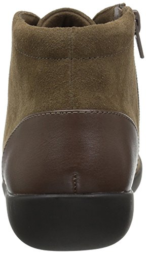 Sage Medora Olive Women's CLARKS Bootie Ankle qFw8n4a