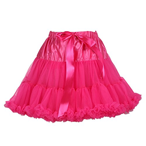 Rosa Gonna Fancy Mini Amoretu Sottogonna Rockabilly Tutu Vintage Retro 50s Petticoat Net 4nqPTFgn
