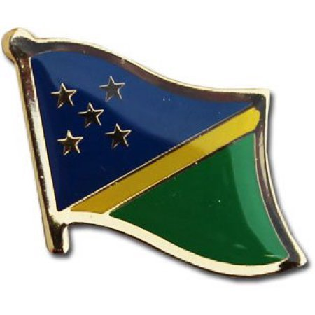 - Backwoods Barnaby Solomon Islands Flag Lapel Pin/International Travel Pins Collections by (0.75