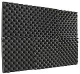 Egg Crate Foam Bulk New Level 6 Pack- Acoustic Panels Studio Foam Egg Crate 2