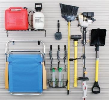 Slatwall Garage Accessory Kit by Schulte