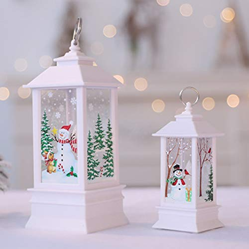 (Christmas Decorations for Home Led 1pcs Christmas Candle with LED Tea Light Candles for Christmas Decoration)