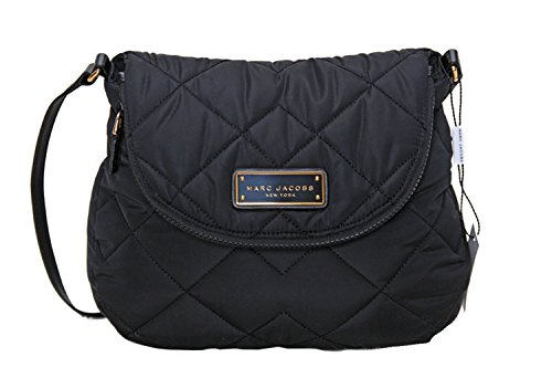 Marc by Marc Jacobs Natasha Quilted Nylon Crossbody Handbag (Black)