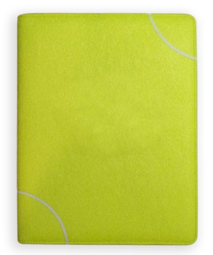 Tennis Business Cards - Zumer Sport Textured Tennis Themed Portfolio - Soft and Supple Padfolio with Notepad and Business Card Holder - Includes a Pen Holder and Ruled Writing Pad - Perfect Gift Ideas