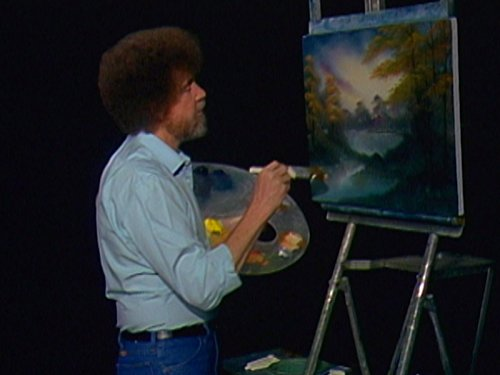 Bright Autumn Trees (Ross Of Bob Painting The Joy)